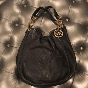 Micheal Kors Black Hobo bag